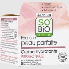 SO'BiO ETIC Creme hydratante Pour une peau parfaite - 50 ml