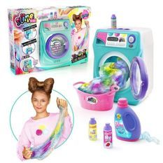 SO DIY So Slime Tie & Dye - Machine a laver Slime Tie and Dye - Colore ta slime - SSC 134 - 6 ans et +