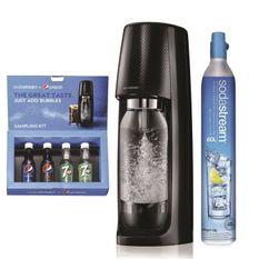 SODASTREAM Machine a gazifier Spirit Noire + Coffret Découverte Pepsi