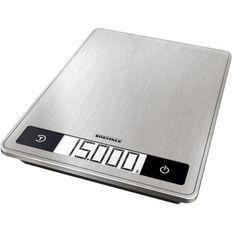 SoeHNLE Page Profi 200 - Balance culinaire éléctronique - 15kg - Surface de pesée extra-large 24x17,5cm - Ecran LCD - Tare - Inox