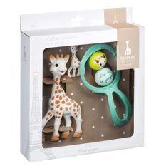SOPHIE LA GIRAFE Coffret cadeau il était une fois Sophie la Girafe