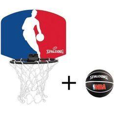 SPALDING Mini panier Logo NBA