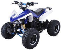 Speedy 1000W 48V bleu 7 pouces Quad enfant électrique