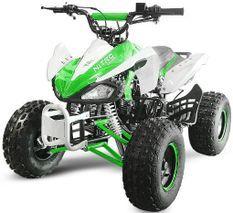 Speedy 1000W 48V vert 7 pouces Quad enfant électrique