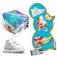 SPLASH TOYS - Sneak'Artz Shoebox Série 2 - Boîte Bleue