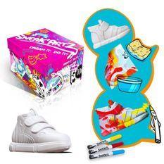 SPLASH TOYS - Sneak'Artz Shoebox Série 2 - Boîte Fuschia