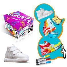 SPLASH TOYS - Sneak'Artz Shoebox Série 2 - Boîte Violette