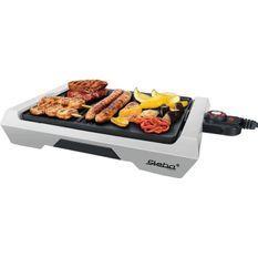 STEBA 064500 VG50 Grill de table - 2000 W - Plaque de cuisson céramique 35 x 25 cm - Gris et noir