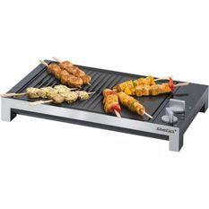 STEBA 066100 TG1 Grill de table - 2200 W - Plaque antiadhésive 37 x 30 cm - Noir