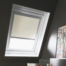 Store de fenetre de toit occultant beige VELUX M04 -L.78 x H.98 cm - MADECO