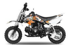 Storm V2 90cc automatique orange 10/10 pouces Dirt Bike