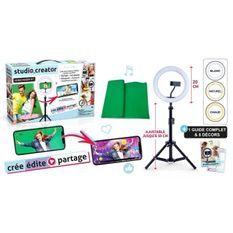 STUDIO CREATOR Video Maker Kit - Crée des vidéos comme un pro !