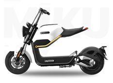 Sunra Miku Max blanc Scooter électrique