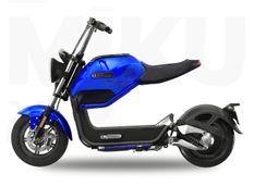 Sunra Miku Max bleu Scooter électrique