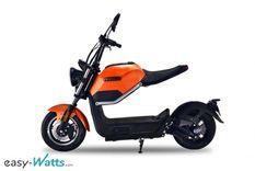 Sunra Miku Max orange Scooter électrique