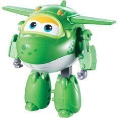 SUPER WINGS – TRANSFORMING MIRA – Avion Jouet Transformable et Figurine Robot 12 cm – Jouet Enfant 3 ans+