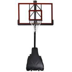 SWAGER Panier de Basket Ball Réglable Platinium Noir