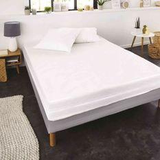 SWEETNIGHT Rénove matelas ALLERGOSTOP 180x200 cm, housse intégrale, anti-acariens et anti-punaises de lit