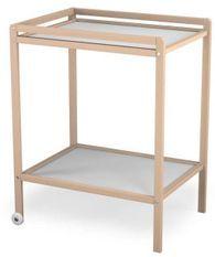Table à Langer Hêtre Naturel 1 étage Atelier T4