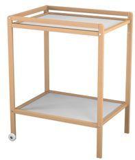 Table à Langer Hêtre Vernis 1 étage Atelier T4