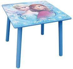 Table carrée Reine des neiges Disney