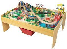 Table circuit de train Adventure Town KidKraft 18025