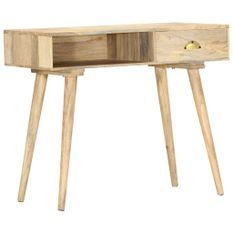 Table console 90x45x75 cm Bois de manguier massif