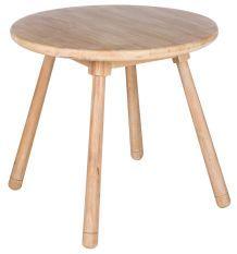 Table d'enfant ronde bois massif clair Kidora D 55 cm