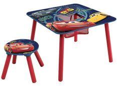 Table et 1 tabouret Cars Disney