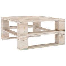 Table palette de jardin Bois de pin imprégné