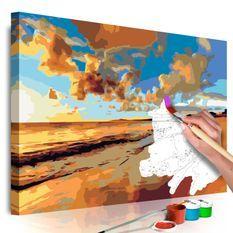 Tableau à peindre par soi-même Belle plage
