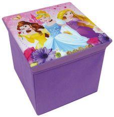 Tabouret de rangement pliable Princesses Disney