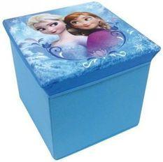 Tabouret de rangement pliable Reine des neiges Disney