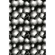 Tapis 100% vinyle VIF 21851 - 1,5 mm - 120 x 180 cm - Noir