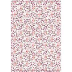 Tapis 100% vinyle VIF 41162 - 1,5 mm - 66 x 95 cm - Rouge
