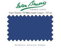 Tapis de billard Simonis 760 165 cm bleu royal
