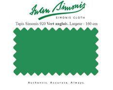 Tapis de billard Simonis 920 160 cm vert Anglais