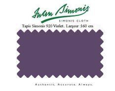 Tapis de billard Simonis 920 160 cm Violet