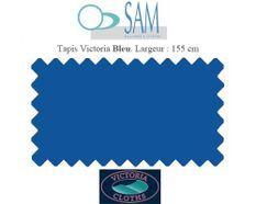Tapis de billard Victoria 155cm bleu