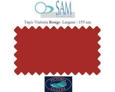Tapis de billard Victoria 155cm Rouge