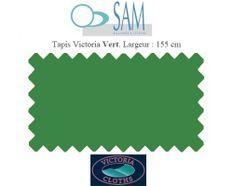 Tapis de billard Victoria 155cm vert