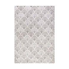 Tapis Doa 3987-3 - 120 x 170 cm - Gris