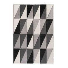 Tapis JASPER 4646-4 - Noir - 120 x 170 cm