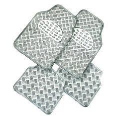 Tapis pvc METALIC gris