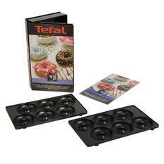TEFAL Accessoires XA801112 Lot de 2 plaques beignets Snack Collection