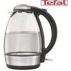 TEFAL KI720810 - Bouilloire éléctrique sans fil en verre - 1,7L - 2400W - Arret automatique - Bouton Flip Top - Socle 360°