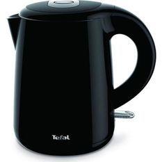 TEFAL KO261810 - Bouilloire éléctrique sans fil Safe'tea - 1L - 1800W - Fonction maintien au chaud 30min - Filtre amovible - Noir