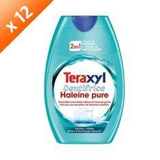 TERAXYL Dentifrice Haleine Pure - Lot de 12x 75 ml