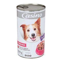 Terrine pour chien - Boeuf et carotte - 1,23 kg