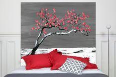 Tête de lit Renaissance Rouge